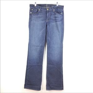 7 For All Mankind Bootcut Jeans Med Wash Sz 31 871
